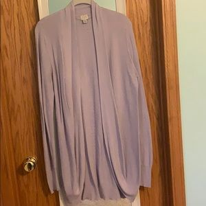 A New Day Lavender Cardigan
